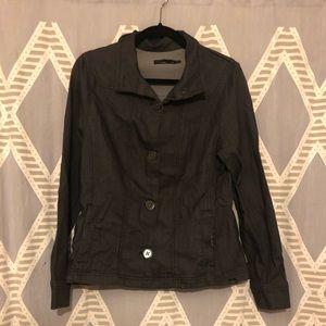 Prana Dark Wash Denim Jacket